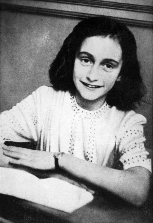 "(FILES) This file photo taken on January 1, 1942 and released by the Anne Frank Fonds shows a portrait of Anne Frank who died of typhus in the Bergen-Belsen concentration camp in May 1945 at the age of 15. A very rare handwritten poem by Jewish diarist Anne Frank was sold for 140,000 euros to an unnamed online bidder on November 23, 2016, fetching almost three times its reserve price. Frank wrote the 12-line text, dated March 28, 1942, in a friendship book belonging to the older sister of her best friend only three months before she and her family went into hiding from the Nazis in Amsterdam. / AFP PHOTO / ANNE FRANK FONDS / HO / RESTRICTED TO EDITORIAL USE - MANDATORY CREDIT ""AFP PHOTO /ANNE FRANK FONDS"" - NO MARKETING NO ADVERTISING CAMPAIGNS - DISTRIBUTED AS A SERVICE TO CLIENTS HO/AFP/Getty Images"