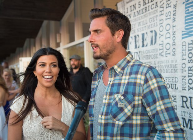 "SCOTT ROTH/ASSOCIATED PRESS ARCHIVES Scott Disick and Kourtney Kardashian attend the ""Party Under the Stars"" benefit in New York in August 2014. Reports say Kardashian has broken things off with her longtime beau because of his hard-partying ways. OK for web OK for all pubs"