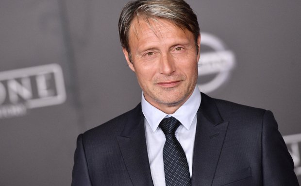 "HOLLYWOOD, CA - DECEMBER 10: Actor Mads Mikkelsen attends the premiere of Walt Disney Pictures and Lucasfilm's ""Rogue One: A Star Wars Story"" at the Pantages Theatre on December 10, 2016 in Hollywood, California. (Photo by Mike Windle/Getty Images)"