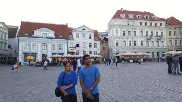 ESTONIA: San Jose residents Padmala and Rahul Jayaraman recently visitedTallinn as part of a 14-day trip to Estonia, Finland and Sweden. (Courtesy of the Jayaraman family)