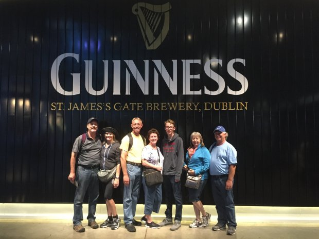 *IRELAND:* In August, San Jose residents John and Charlene Roberts met upwith Fremont residents Bob and Michaele Peabody and their son Kyle, and Santa Clara residents Kay and Steve Kister for a 14-day Irish golf and sightseeing tour. (Courtesy of the Roberts Family)