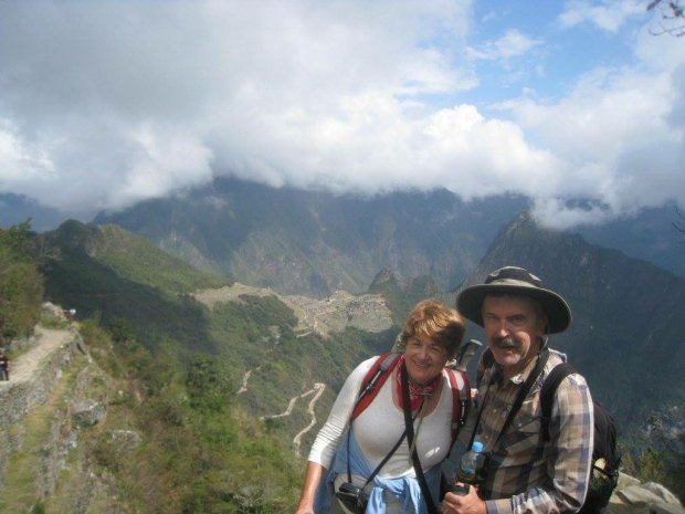 PERU: Martinez residents Toni and George Vetek recently visited MachuPicchu, Cusco and the Amazon rainforest. (Courtesy of the Vetek Family)