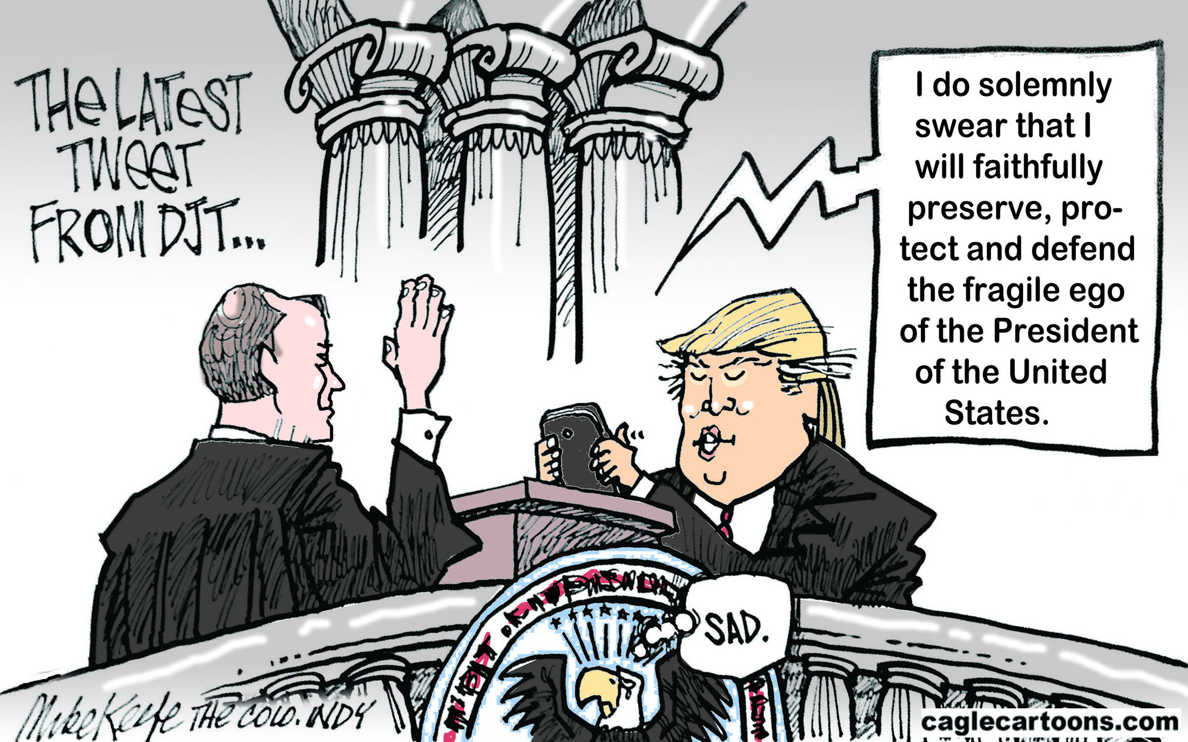 Image result for cartoons about trump lying