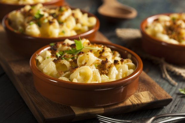 Mac and cheese is a cozy classic, but when you amp up the flavor factor byusing Cypress Grove Truffle Tremor instead of cheddar, the results are seductive enough for Valentine's Day. (Thinkstock)