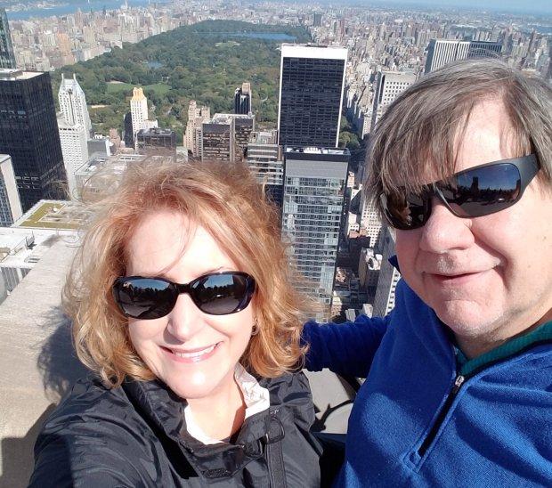 Courtesy of Melinda McDonaldNEW YORK: San Jose resident Melinda McDonald and her husband, Gordon Pedersen, spent a week in New York City in early October, visiting the new Whitney Museum, Central Park and Rockefeller Center.