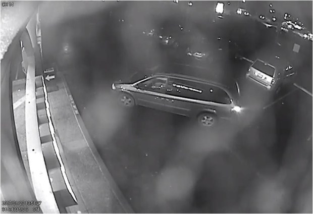 A man who robbed a San Bruno Subway sandwich shop reportedly fled in this minivan on Jan. 23, 2017.