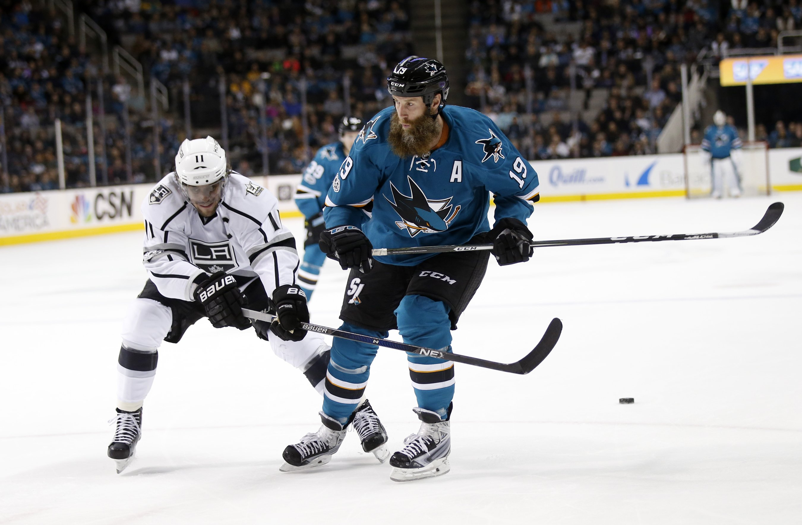 Sharks look to rebound from opening loss, host Kings""