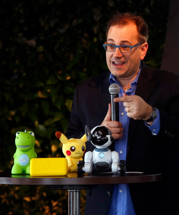 Jules Polonetsky, chief executive officer of the Future of Privacy Forum, speaks about privacy issues surrounding connected toys at a National Cyber Security Alliance gathering on Data Privacy Day in San Francisco, Calif., Thursday, Jan. 26, 2017. (Karl Mondon/Bay Area News Group)