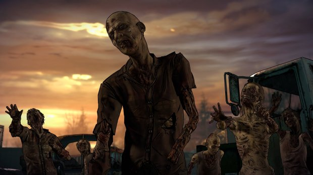 "Zombies are as dangerous as ever in ""The Walking Dead: The Telltale Series - A New Frontier."""