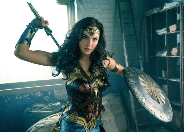 "Gal Gadot plays the title she-ro in ""Wonder Woman,"" opening June 2. (ClayEnos/Warner Bros.-DC)"