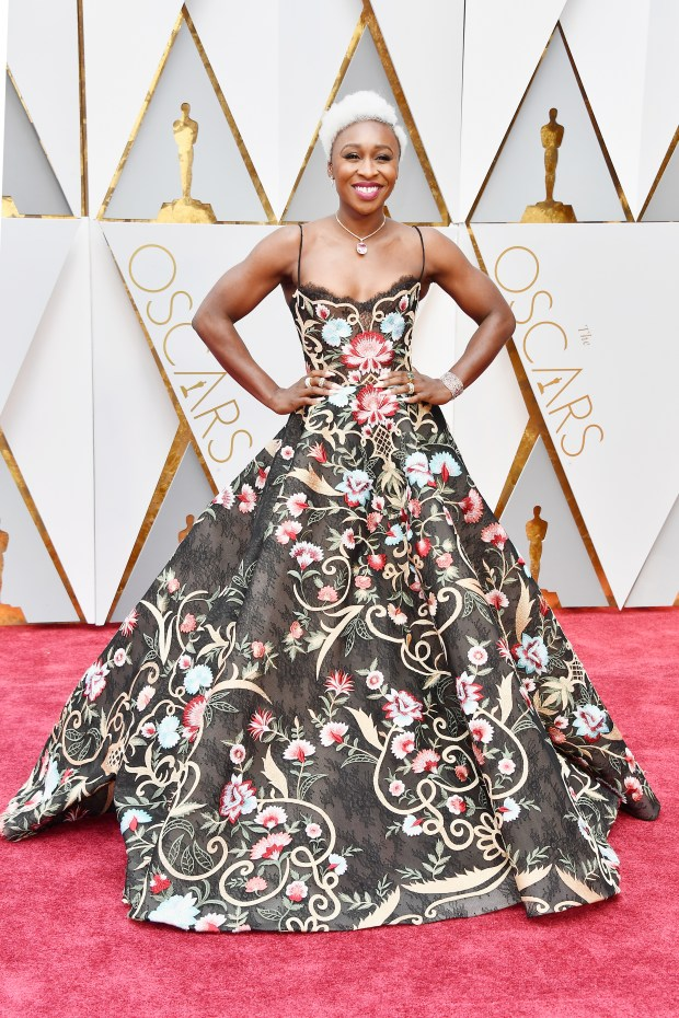 HOLLYWOOD, CA - FEBRUARY 26: Actor Cynthia Erivo attends the 89th Annual Academy Awards at Hollywood & Highland Center on February 26, 2017 in Hollywood, California. (Photo by Frazer Harrison/Getty Images)