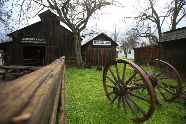 Buildings are photographed along Main Street at Columbia State Historic Park on Thursday, Feb. 2, 2017, in Columbia, Calif. (Aric Crabb/Bay Area News Group)