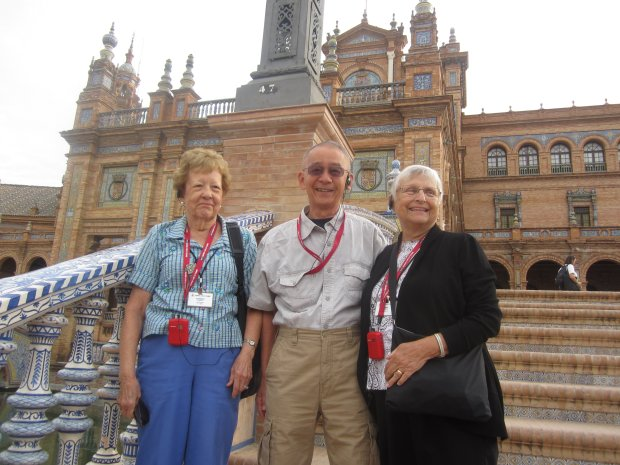 SPAIN: San Ramon resident Gary Fong, center, and his wife Shirley took atwo-week tour of Portugal and Spain this fall.