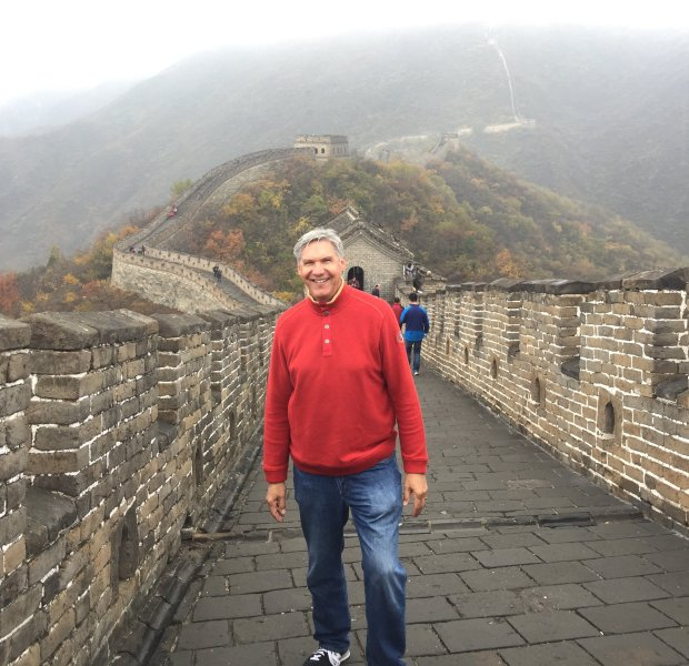 CHINA: San Jose resident Gary Nelson visited Beijing and the Great Wall ofChina this fall. (Courtesy Gary Nelson)