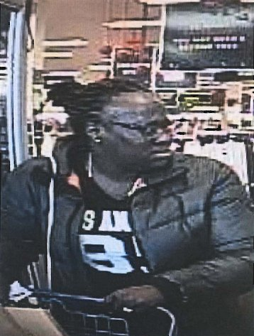Police are seeking the public's help in identifying this woman, who they say has been stealing the wallets of distracted female senior citizens in South San Francisco and other surrounding cities since November. (Courtesy of the South San Francisco Police Department).