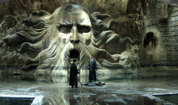 "A scene from the film ""Harry Potter and The Chamber of Secrets."""
