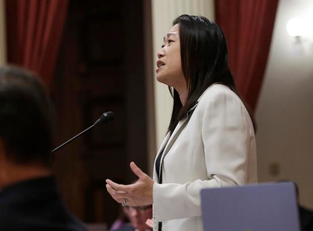 Sen. Janet Nguyen, R-Fountain Valley (AP Photo/Rich Pedroncelli, file)