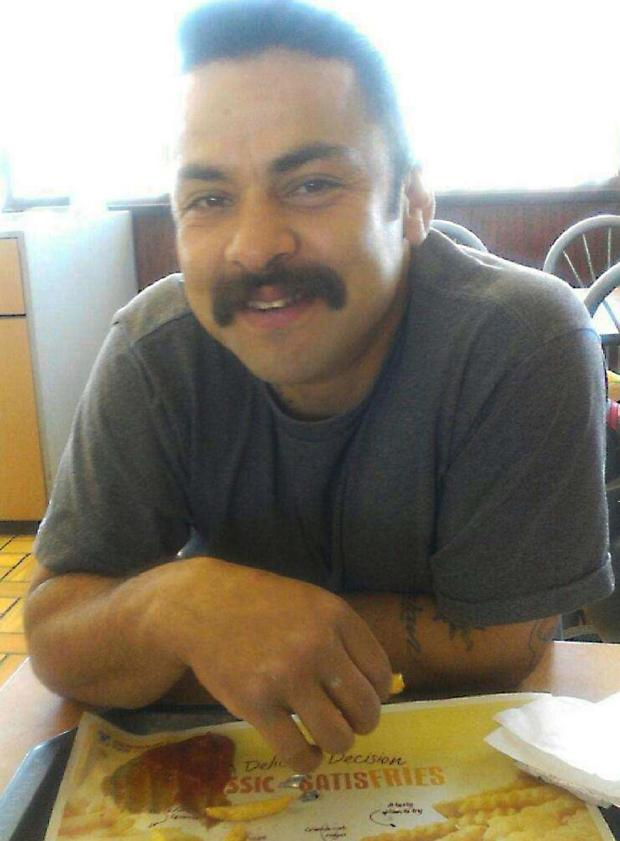 Michael Anthony Perez, the 33-year-old resident of Orange, was fatally shot Sunday night after he stumbled out of a minivan with a knife attached to his belt, struggled with a policeman. Perez had barricaded himself in a minivan, set a can of gasoline next to himself and lit a cigarette, police said. (Photo Courtesy of Mike Medina)