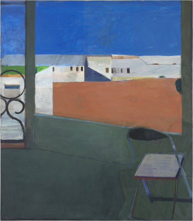 """Window"" (1967) by Richard Diebenkorn. (© Richard Diebenkorn Foundation)"