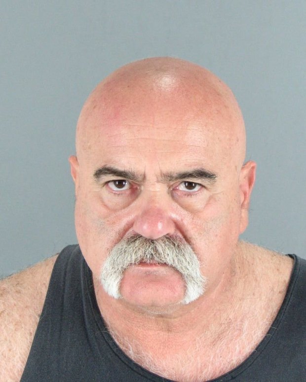 Joseph Hirsch, 59, was arrested March 14, 2017 on suspicion of operating as a fake dentist and making drugs and brass knuckles in his makeshift San Carlos office.