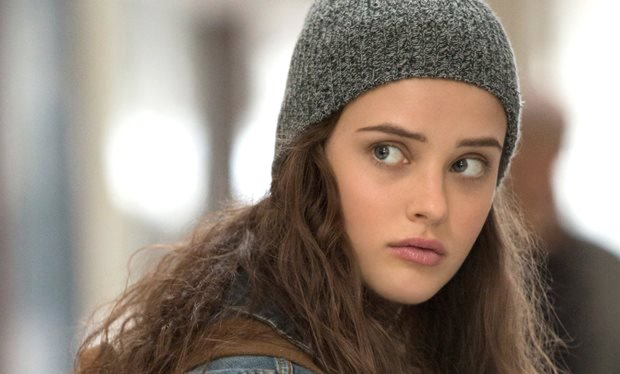 "Katherine Langford plays Hannah, the high-schooler at the center of ""13Reasons Why."" (Netflix)"