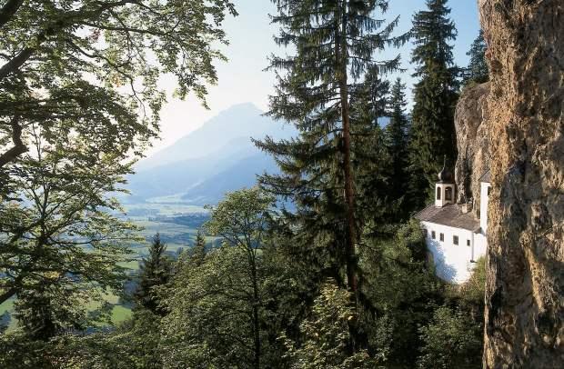Hermitage Palfen, overlooking Saalfelden near Salzburg in Austria. (AFP / Saalfelden Leogang Touristik)
