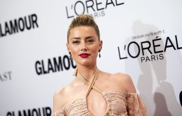 Actress Amber Heard attends 2016 Glamour Women Of The Year Awards inHollywood, California, on November 14, 2016. (Photo by VALERIE MACON/AFP/Getty Images)