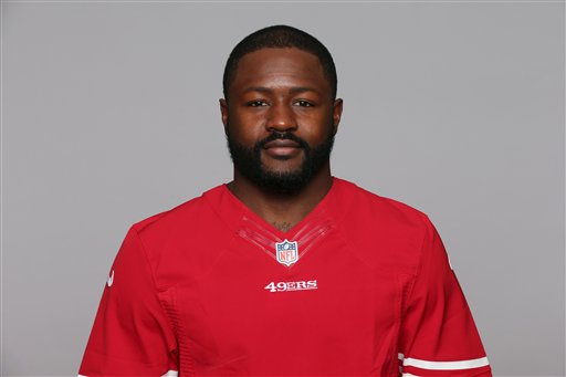 This is a 2016 photo of Tramaine Brock of the San Francisco 49ers NFL football team. This image reflects the San Francisco 49ers active roster as of Tuesday, April 19, 2016 when this image was taken. (AP Photo)