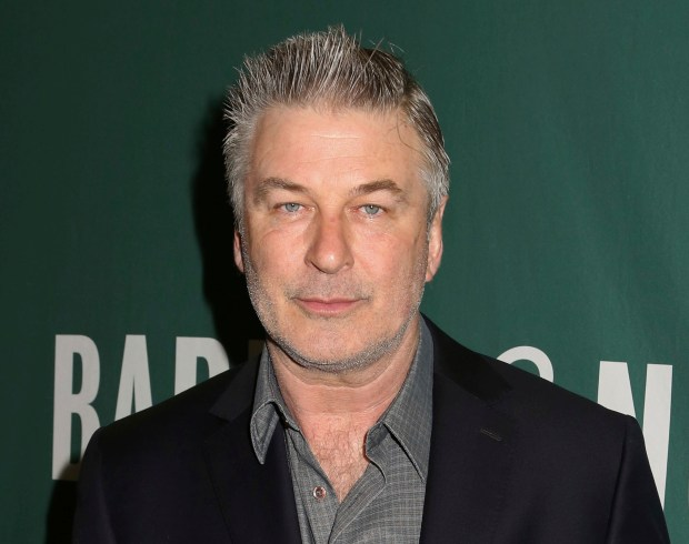 """Actor and author Alec Baldwin appears at Barnes & Noble Union Square to sign copies of his new book, """"Nevertheless: A Memoir"""", on Tuesday, April 4, 2017, in New York. (Photo by Greg Allen/Invision/AP)"""