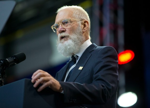 Former late-night talk show host David Letterman, 2016. (AP Photo/Pablo Martinez Monsivais, File)