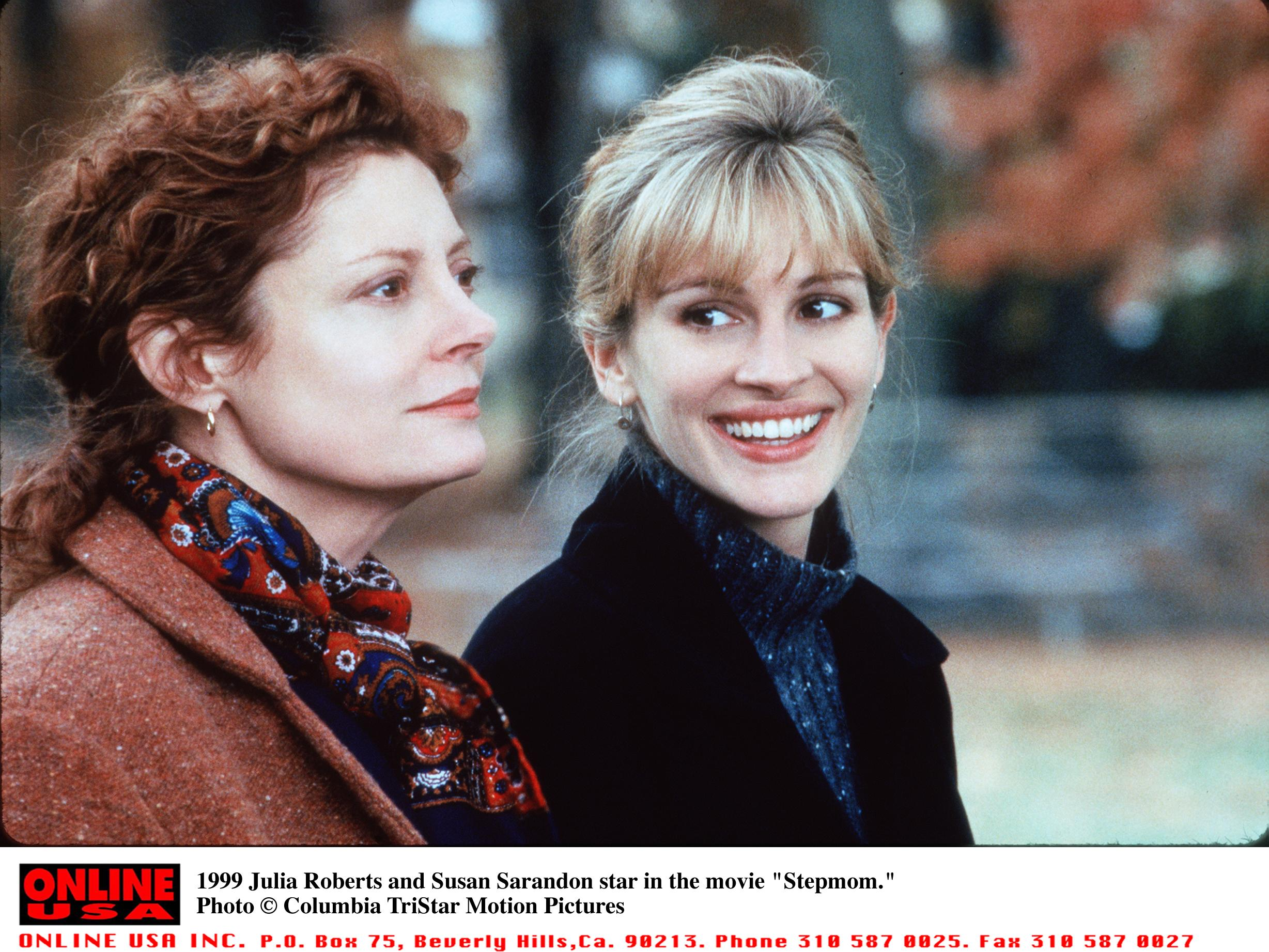 Susan Sarandon Finally Settles Rumors She Feuded with Julia Roberts on Stepmom