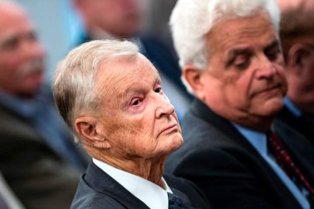 Zbigniew Brzezinski in 2013. (AFP Getty)