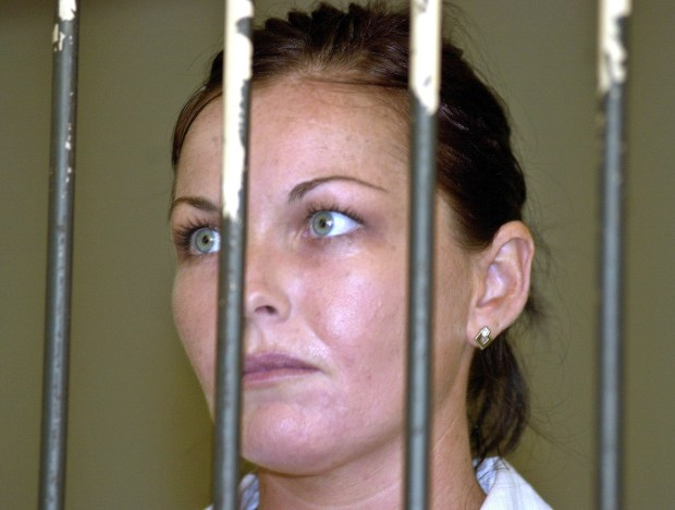 Schapelle Corby in 2005. (AP Photo/Firdia Lisnawati, File)