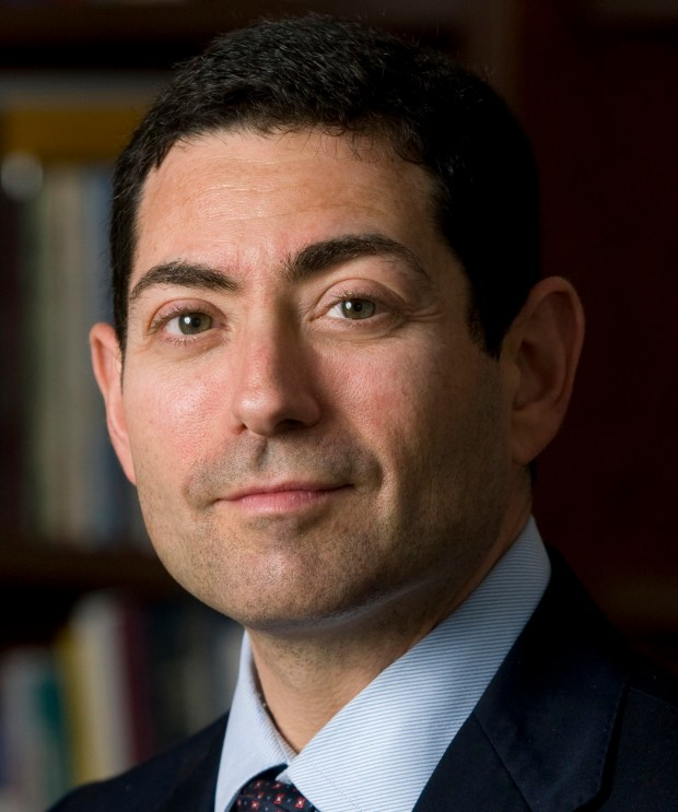 This undated photo provided by the Governor's Office on Tuesday, July 22, 2014 shows Stanford law professor Mariano-Florentino Cuellar. Cuellar, now an associate justice of the California Supreme Court, will serve as Stanford's commencement speaker. (AP Photo/Office of Gov. Jerry Brown)