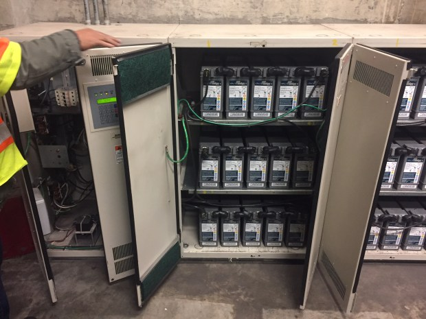BART ordered new batteries to power its emergency lighting system at the Montgomery station after an outage revealed the backup system was not functioning.