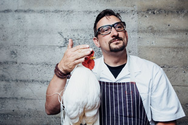 "Chef Chris Cosentino will do a cooking demo, ""A Gutsy Take on a MixedGrill,"" on Sunday at Sunset magazine's Celebration Weekend. (Photo courtesy of Sunset)"