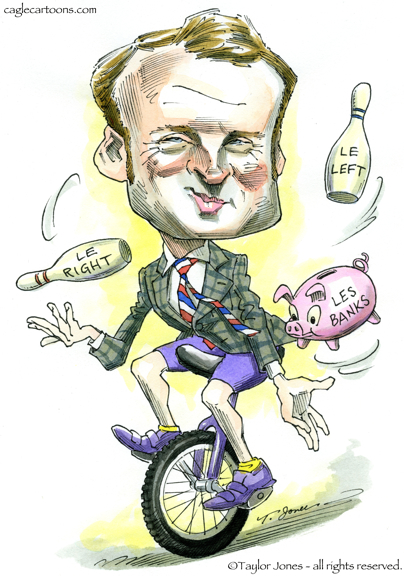 Image result for president macron cartoons