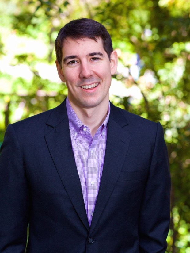 Josh Harder, who is challenging Rep. Jeff Denham (courtesy of Josh Harder)