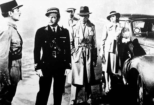 "Many of the cast members in ""Casablanca"" were exiles and émigrés themselves, says the exhibition's curator, Doris Berger. (AP Photo/file)"