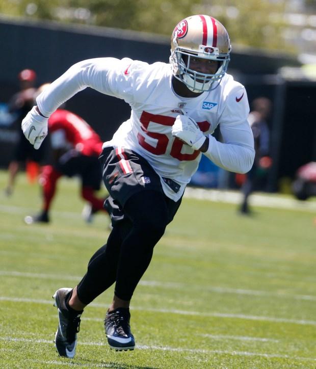 49ers Reuben Foster Poised For Camp Battle