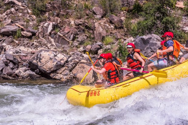 California gets ready for an epic whitewater rafting season – East on