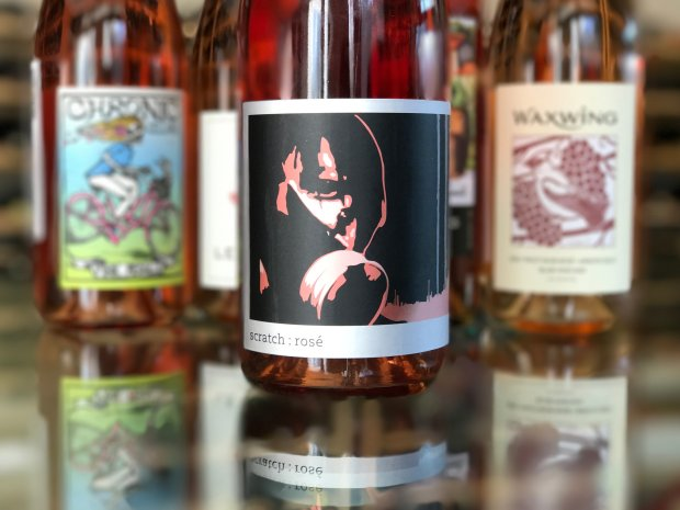 Scratch's rosé is Wrath Wines winemaker Sabrine Rodem's own label.(Mary Orlin/Bay Area News Group)