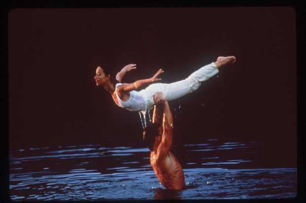"Jennifer Grey and Patrick Swayze in ""Dirty Dancing"" (Live Entertainment)"