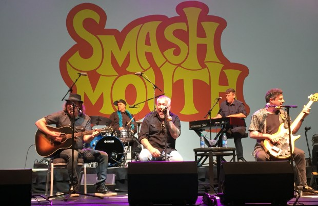 San Jose band Smash Mouth performed at the Children's Discovery Museum's Legacy for Children award dinner at the San Jose McEnery Convention Center on Friday, May 19, 2017. (Sal Pizarro/Staff)