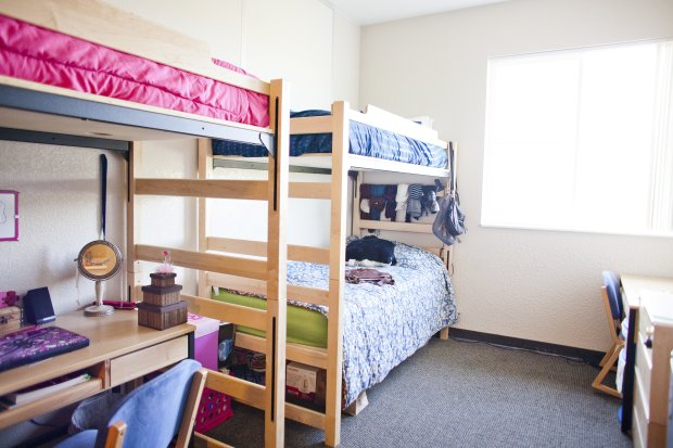 UC Merced, opened in 2005, is among the more expensive of the UC schoolswhen it comes to on-campus housing. (Courtesy of UC Merced)