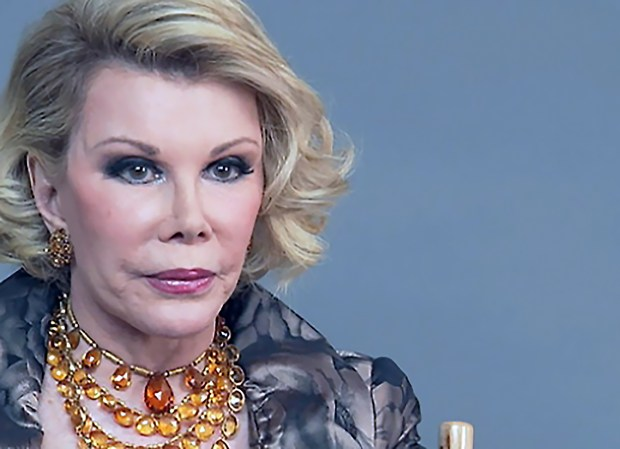 "The late comedienne and ""Fashion Police"" co-star, Joan Rivers, loved jewelry so much that she wrote a book about it in 1995. Rivers also had her own line of costume jewelry, The Joan Rivers Classic Collection, that was sold on QVC TV channels. Some of Rivers personal jewelry will be exhibited this Saturday during an estate sale at Blacy's Fine Jewelers in downtown Los Gatos."