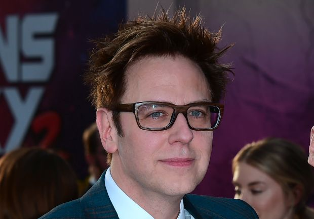 "Writer and director James Gunn arrives for the world premiere of the film ""Guardians of the Galaxy Vol. 2"" in Hollywood, California on April 19, 2017. / AFP PHOTO / Frederic J. BrownFREDERIC J. BROWN/AFP/Getty Images"