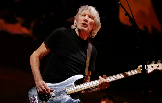 Roger Waters, British rock legend and co-founder of the group Pink Floyd
