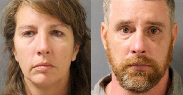 Chauna and Terry Thompson. (Harris County Sheriff's Office via AP)