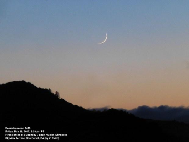 crescent moon by Z. Twist